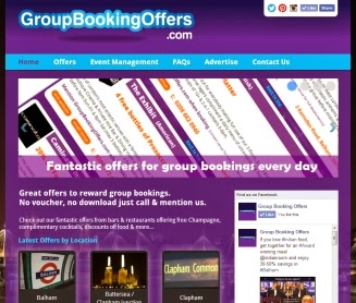 Group Booking Offers London