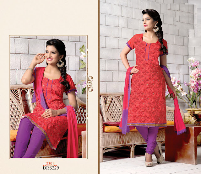 Buy Chanderi Cotton Dress Material – Wholesaler