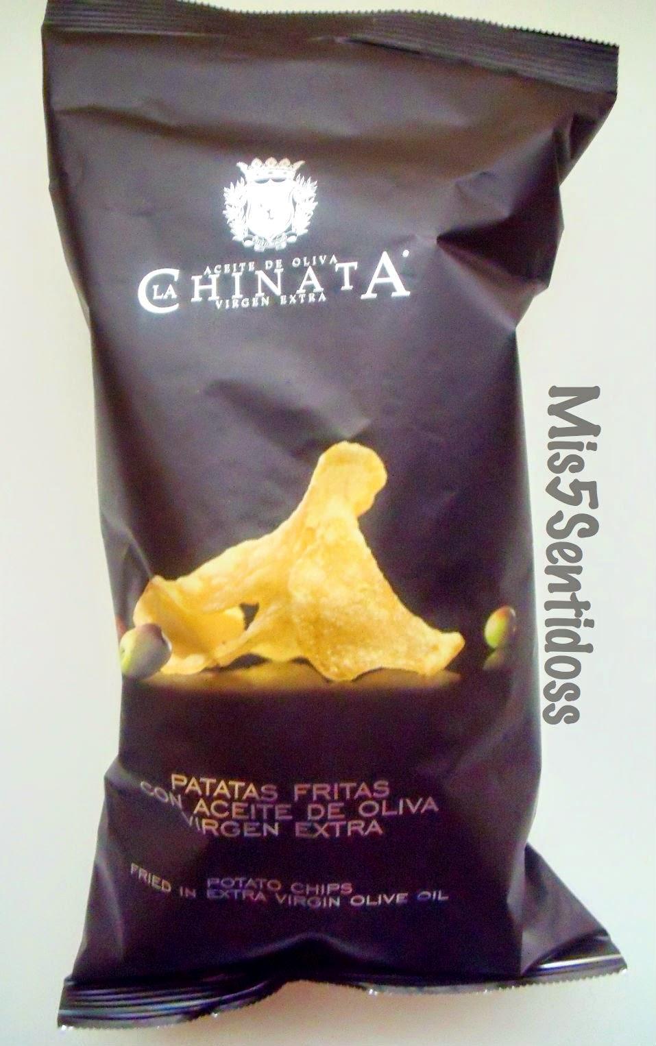 Degustabox Marzo 2014 La Chinata patatas fritas
