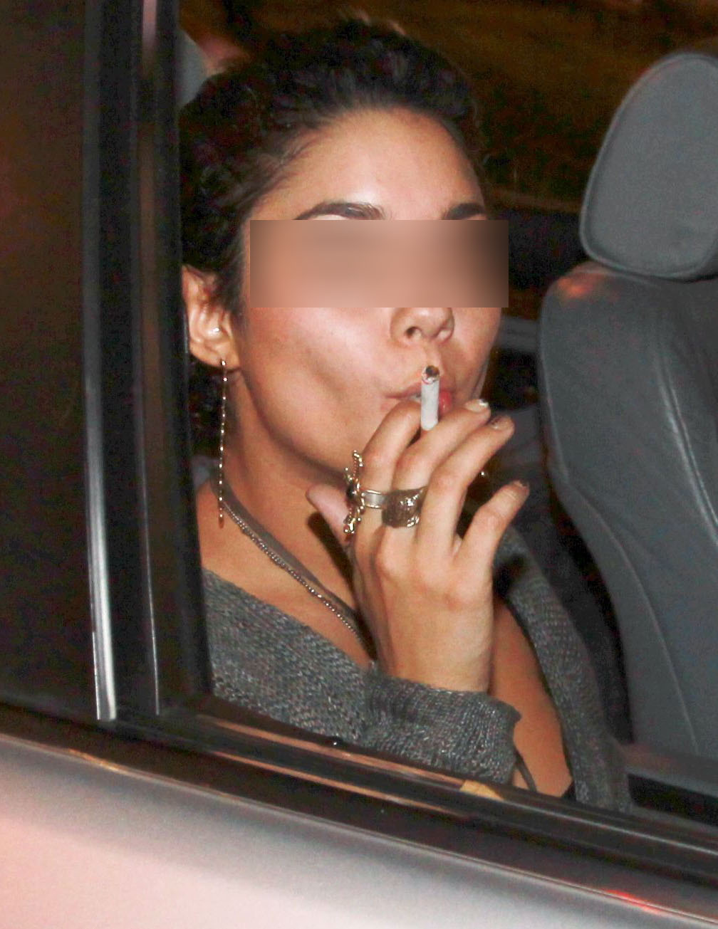 Vanessa Hudgens Smoking