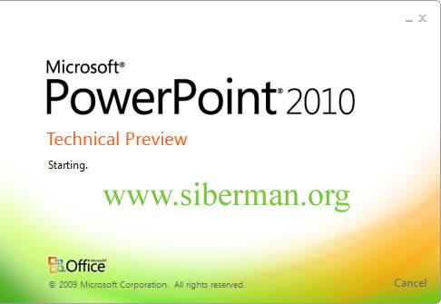 Power Point 2010 İndir : Slayt Hazırlama Yazılımı