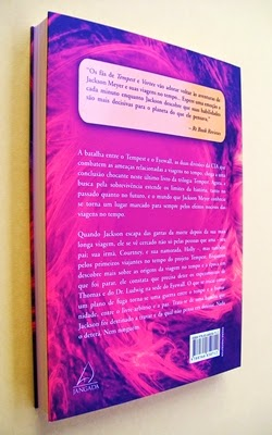 Timestorm - Série Tempest - Livro 3 - Julie Cross (verso)
