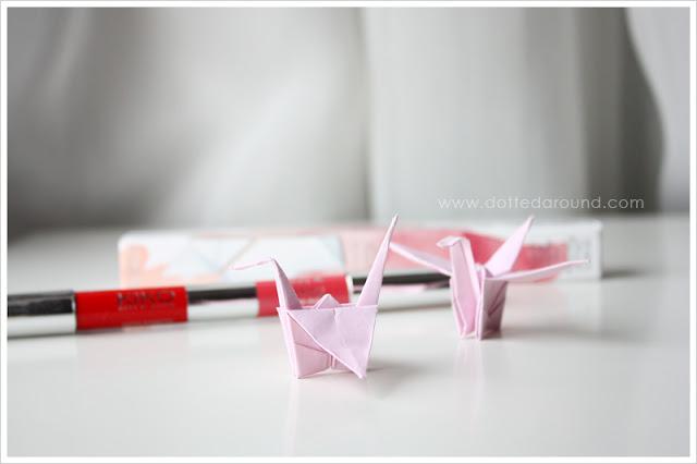 Kiko lipstick duo Blooming Origami