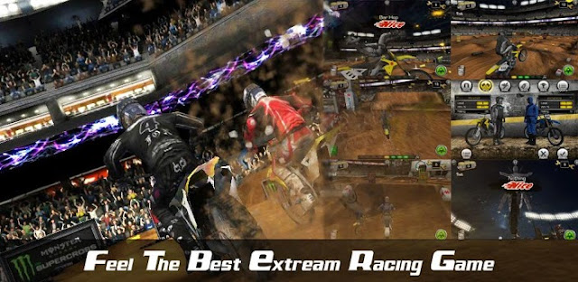 Download Supercross Pro v1.1.9 Android QVGA HVGA WVGA Full