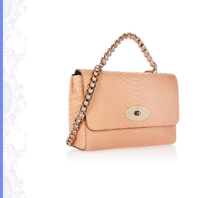 Grace Intemporelle: Mulberry, Cecily snake-effect leather shoulder bag