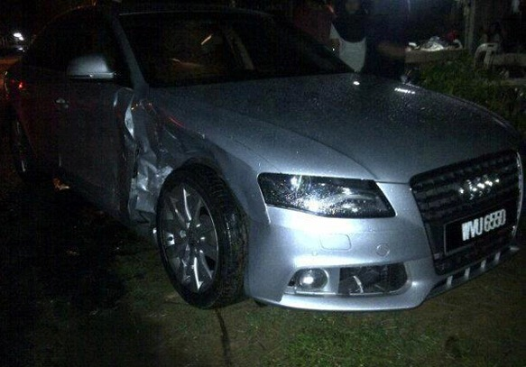Audi Apex Kemalangan