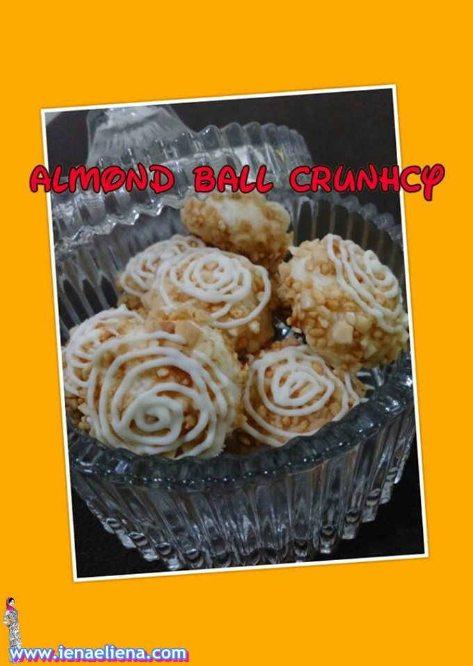 Homemade Almond Ball Crunchy
