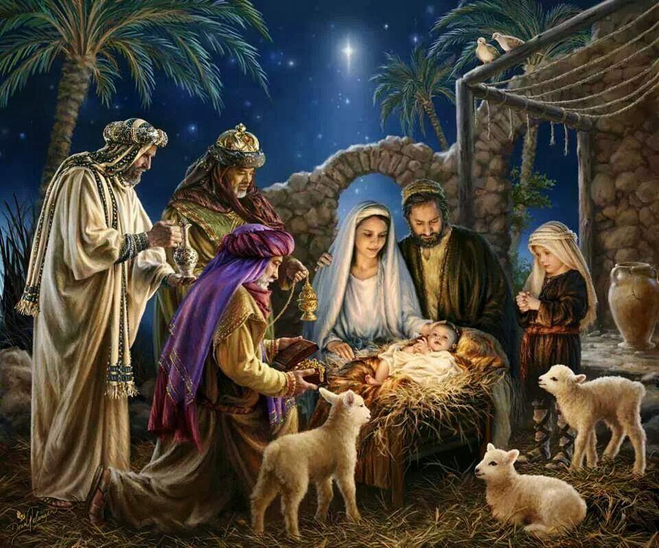 el primer pesebre de navidad: