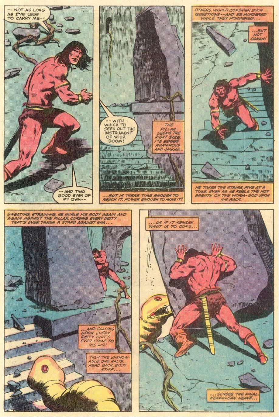 Conan the Barbarian (1970) Issue #126 #138 - English 16