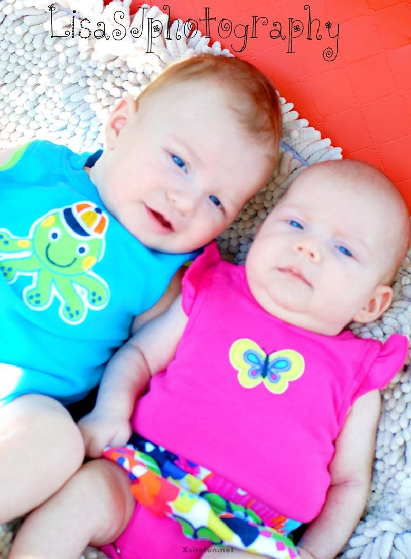 Twins People Photographs No. 5