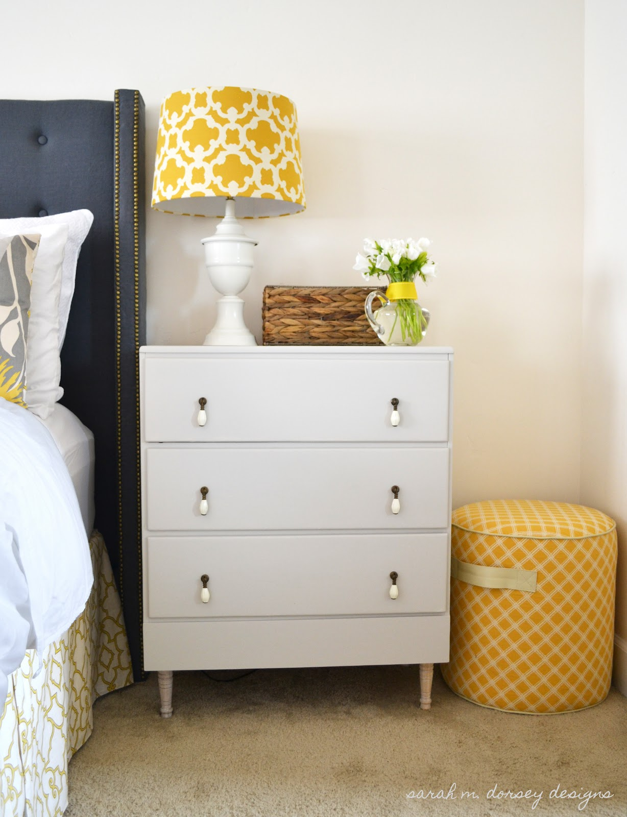 Elegant Check Out This Post To Read About The Dresser On The Other Side Of The Bed  (which I Will Be Painting The Same Color As This Dresser)