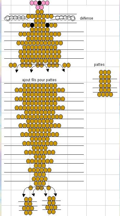 Морж. Схема плетения