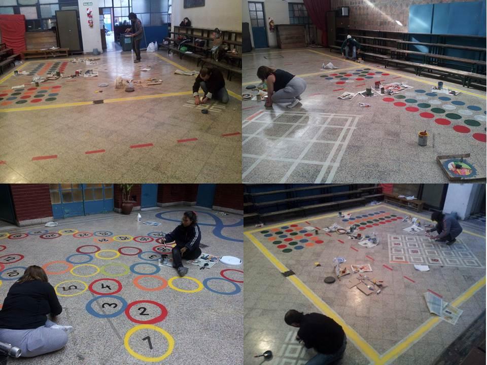 Escuela 22 DE 7º: Juegos en el patio!!!