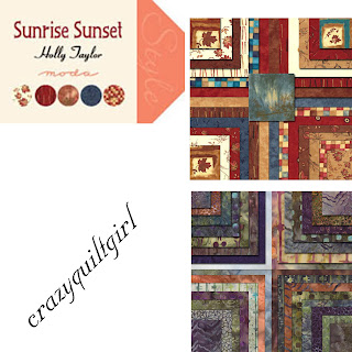 Moda SUNRISE SUNSET Batiks Quilt Fabric by Holly Taylor