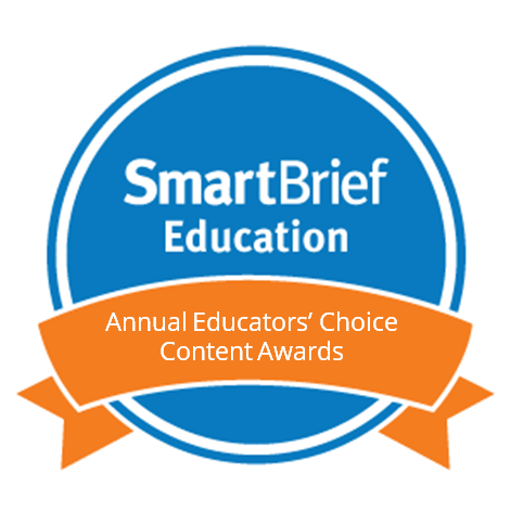 SmartBrief Annual Educator's Choice Content Award 2018