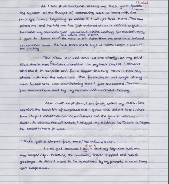 Pmr english essays samples