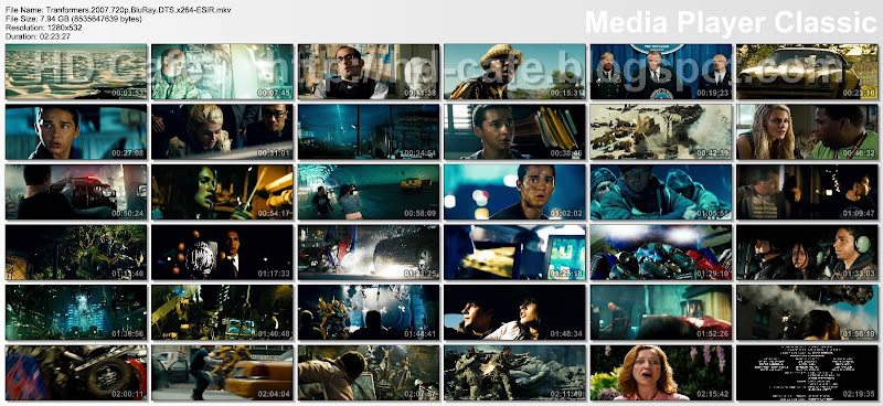 Transformers 2007 video thumbnails