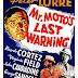 MR. MOTO'S LAST WARNING (1939)