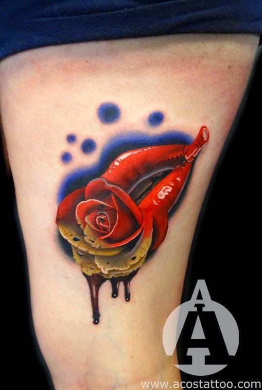 Lips Tattoo