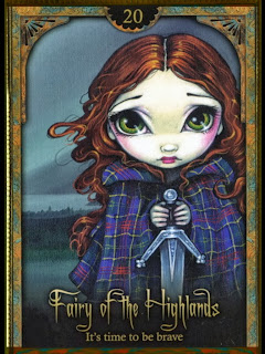 oracle of shadows and light The Fairy of the Highlands