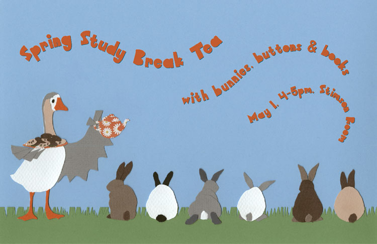 Tea and Bunnies poster