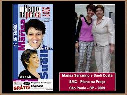 Marisa Serranno e Sueli Costa (Compositora)