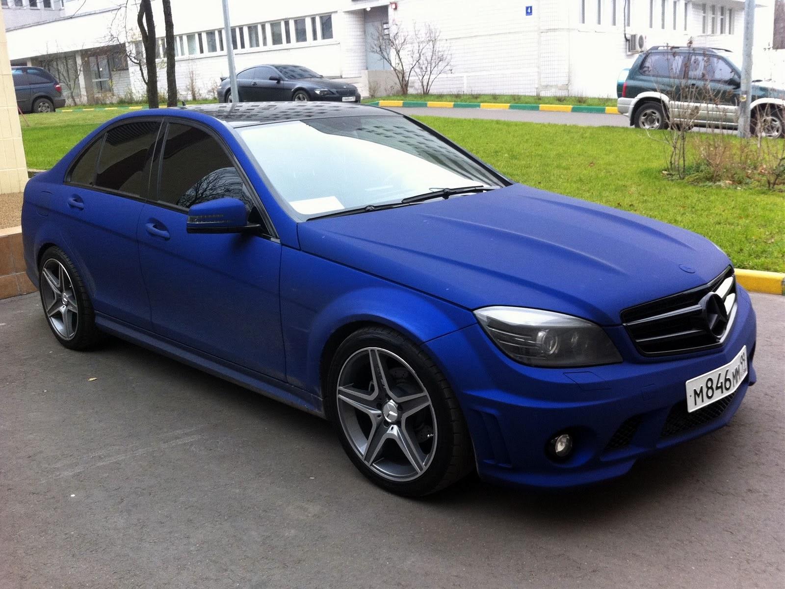 Mercedes-Benz W204 Blue VELVET | BENZTUNING