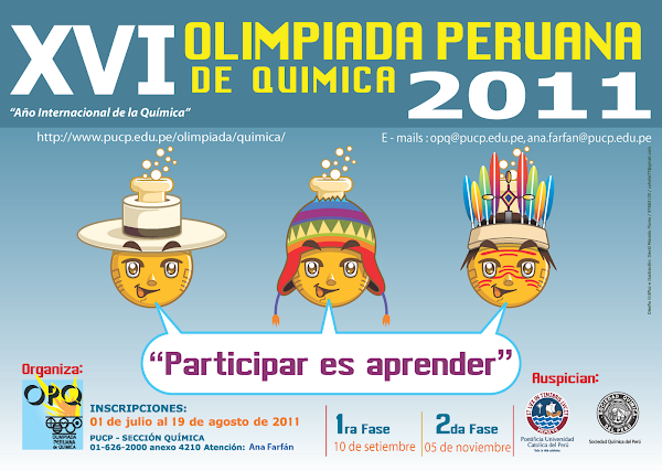 XVI OLIMPIADA PERUANA DE QUIMICA O.P.Q. 2011