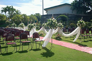 Decoracion de Bodas, Ceremonias al Aire Libre, parte 1