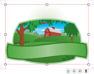 Clip Art in the Online Designer