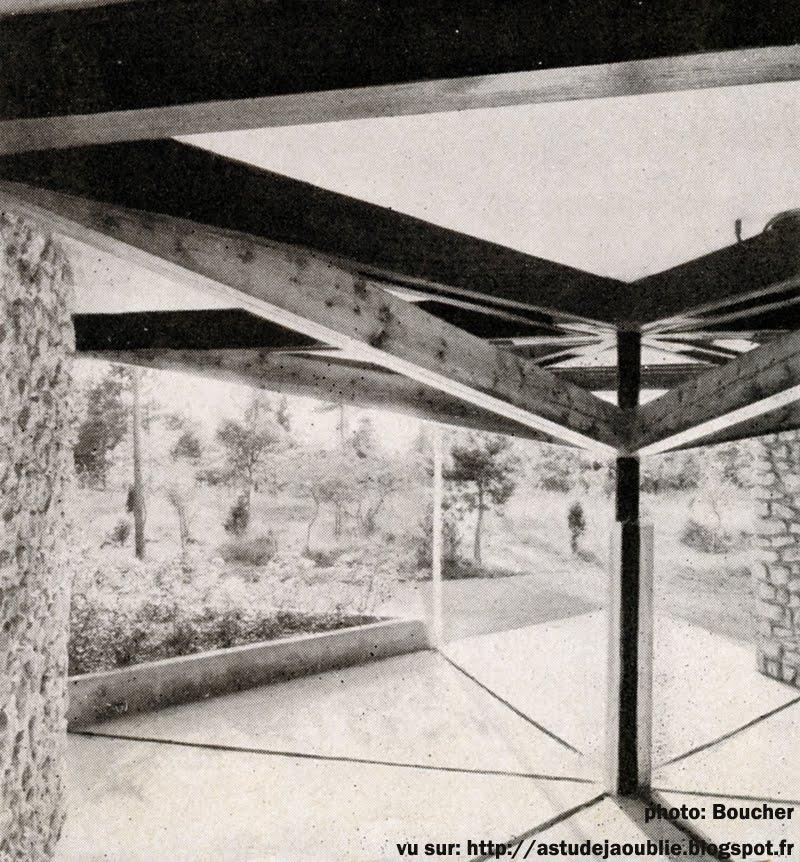 buthiers maison hexacore 1954 p forestier. Black Bedroom Furniture Sets. Home Design Ideas