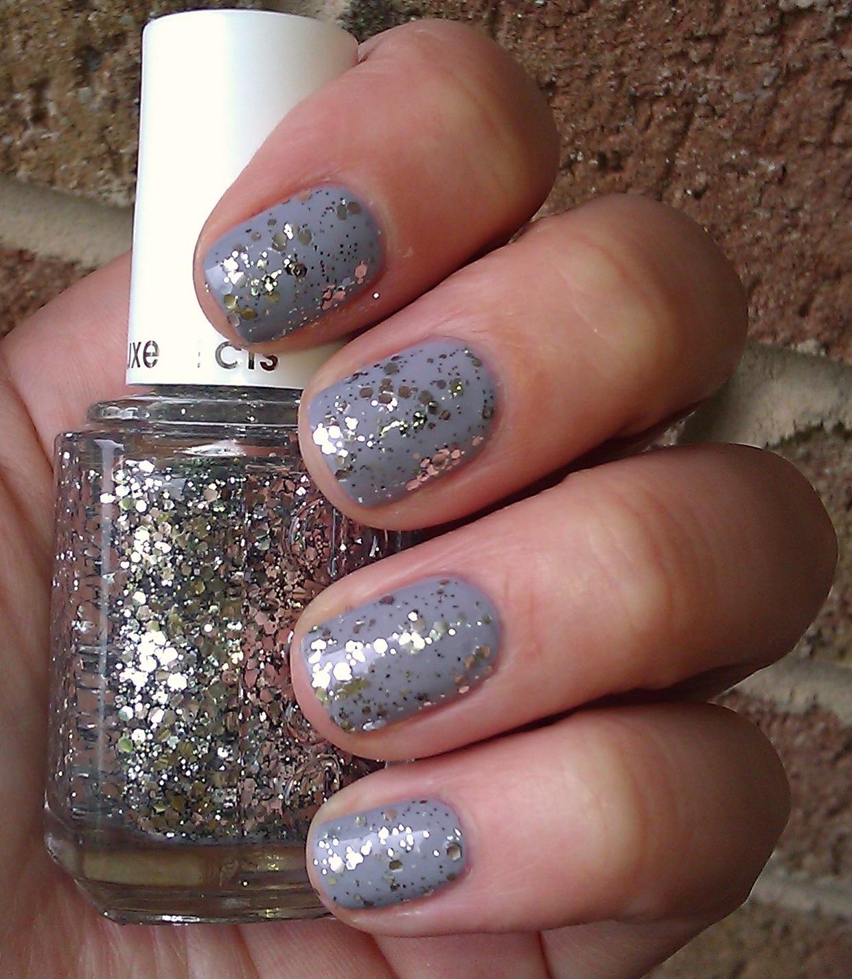 Polish or Perish: Silver Sparkle - Essie Set in Stones