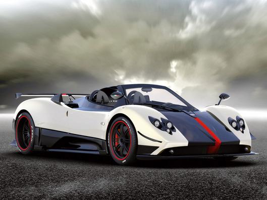 Mobil Termahal Pagani Zonda Cinque Roadster