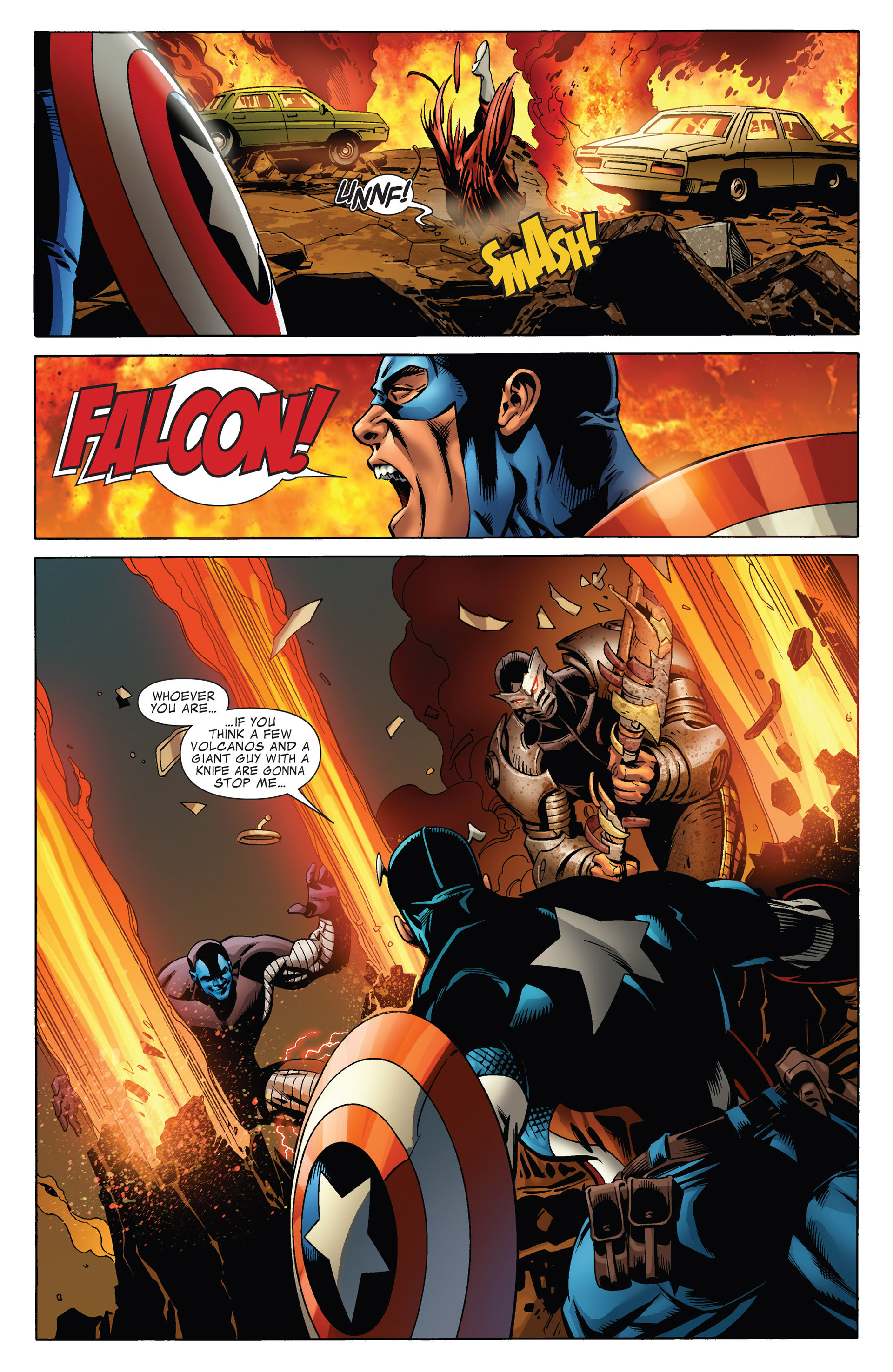 Captain America (2011) Issue #15 #15 - English 7