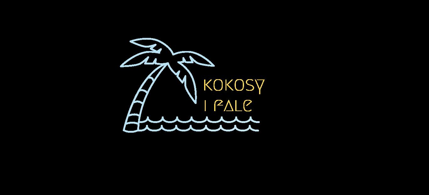 kokosy i fale