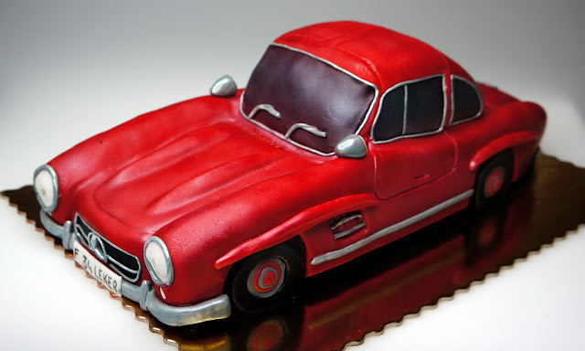 Mercedes-Benz 3D Cake London