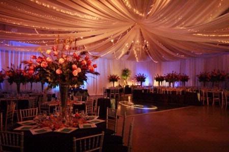 Wedding Dance Floor Wedding Ceiling Decorations