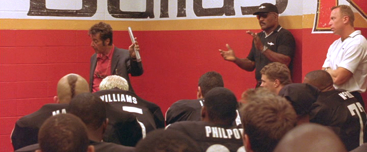 ... from the film Any Given Sunday. The coach, played by Al Pacino, ...