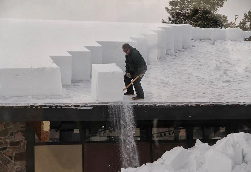 Как сделать крышу чтобы снег не было