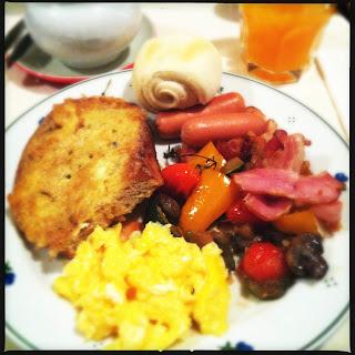 Breakfast in Bratislava
