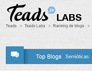 Prêmios: Top Blog / Teads Labs