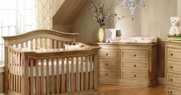 Unique Baby Nursery Furniture Sets Solid Rustic Wood