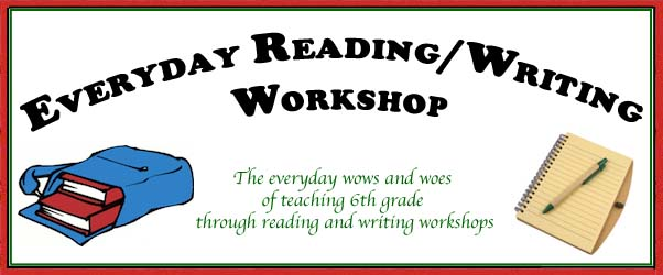 Everyday Reading/Writing Workshop