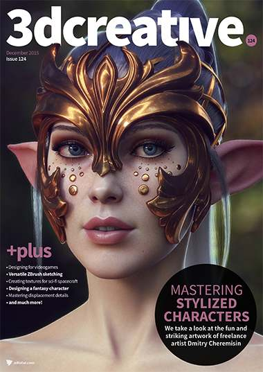 3D Creative Magazine Issue 124 December 2015