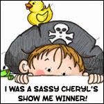 gagnante chez Sassy Cheryll show me challenge