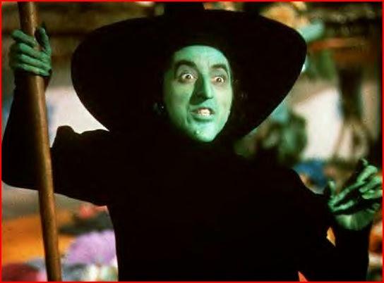 La méchante sorcière de l'ouest dans Le Magicien d'Oz, de Victor Fleming (1939)