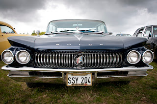 Buick at classic car show