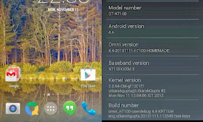 Android 4.4, Android 4.4 KitKat, Android KitKat, Galaxy Note 2, Note 2, Samsung, Samsung Galaxy Note 2, Samsung Note 2