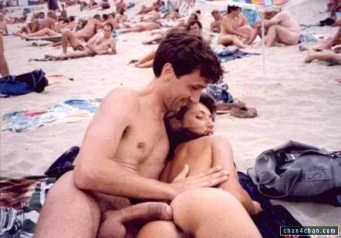 Russian family nude beach
