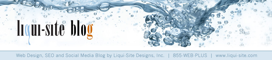 Website Design, SEO and Social Media Blog from Liqui-Site